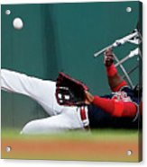 Abraham Almonte and Eric Hosmer Acrylic Print
