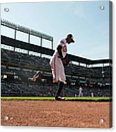 Adam Jones Acrylic Print