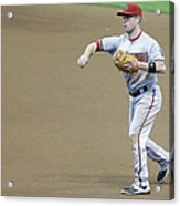 Adam Lind and Chris Owings Acrylic Print