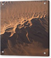Aerial view of Namib Desert , Namibia , Africa Acrylic Print