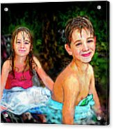 After- Swim Acrylic Print
