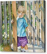 Age Of Innocence Acrylic Print