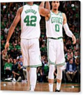 Al Horford and Jayson Tatum Acrylic Print