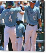Alex Gordon and Mitch Maier Acrylic Print