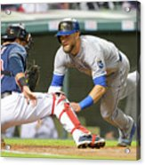 Alex Gordon and Yan Gomes Acrylic Print