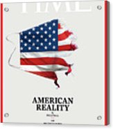 American Reality Acrylic Print