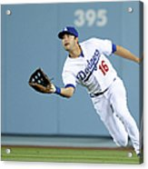 Andre Ethier and Chris Owings Acrylic Print