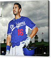 Andre Ethier Acrylic Print