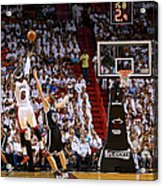 Andrei Kirilenko and Lebron James Acrylic Print