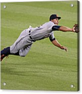 Anthony Gose And Adam Jones Acrylic Print