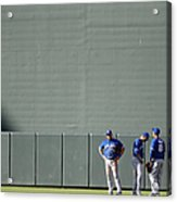 Anthony Gose and Melky Cabrera Acrylic Print