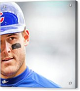 Anthony Rizzo And Gregory Polanco Acrylic Print