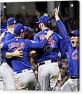 Anthony Rizzo, Kris Bryant, and Chris Coghlan Acrylic Print