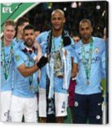Arsenal v Manchester City - Carabao Cup Final Acrylic Print