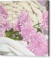 Floral Art Print For Sale Still Life Oil Painting  Acrylic Print