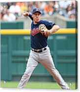 Asdrubal Cabrera and Torii Hunter Acrylic Print