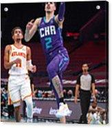 Atlanta Hawks v Charlotte Hornets Acrylic Print