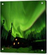 Aurora Borealis Alaska Acrylic Print