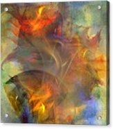 Autumn Ablaze Acrylic Print