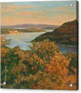 Autumn Hudson Highlands Acrylic Print