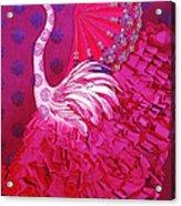 Bailando Flamenco Acrylic Print