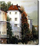 Banks Of The Rhine Acrylic Print