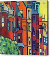 Beacon Street Back Bay Boston Acrylic Print