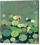 Bettys Serenity Pond Acrylic Print