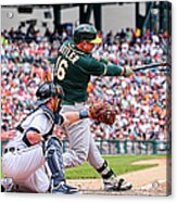 Billy Burns and Billy Butler Acrylic Print