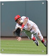 Billy Hamilton and Matt Adams Acrylic Print