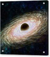 Black hole 01 Acrylic Print