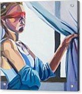 Blindfold Acrylic Print