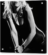 Blondie In Concert At The Whiskey Acrylic Print