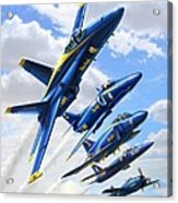 Blue Angels Heritage Acrylic Print
