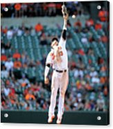 Boog Powell and Manny Machado Acrylic Print