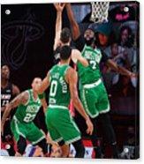 Boston Celtics v Miami Heat - Game Three Acrylic Print