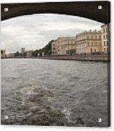 Bridge across the Fontanka River Acrylic Print