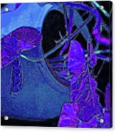 Broken Vase Acrylic Print