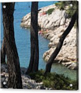 Calanques near Cassis Acrylic Print
