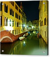 Canal in Venice Acrylic Print