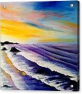 Cannon Beach At Sunset #35 Acrylic Print