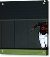 Carlos Beltran and Adam Jones Acrylic Print