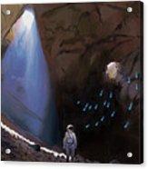 Cave Lights Acrylic Print