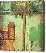 Celtic Festival Poster Acrylic Print