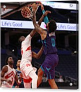 Charlotte Hornets v Toronto Raptors Acrylic Print