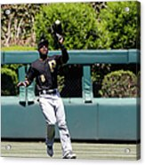 Chase Utley and Starling Marte Acrylic Print