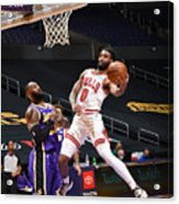 Chicago Bulls v LA Lakers Acrylic Print