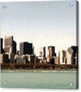 Chicago Sky Line Acrylic Print