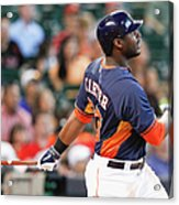 Chris Carter Acrylic Print
