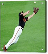 Chris Davis and Carlos Beltran Acrylic Print